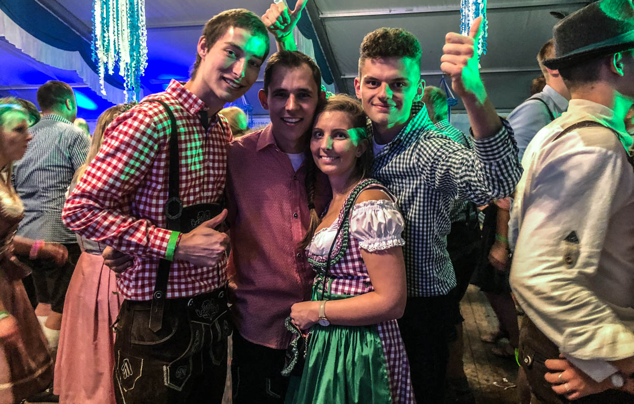 Gaudi im Festzelt in Thüringen