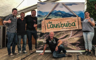 die Lausbuba Oktoberfestband Stuttgart