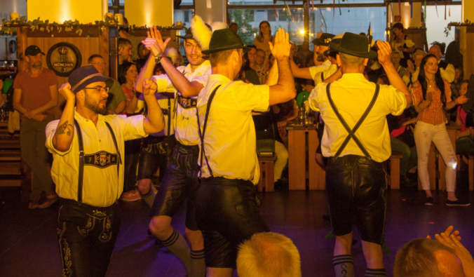 Bayrische Band in Heidelberg