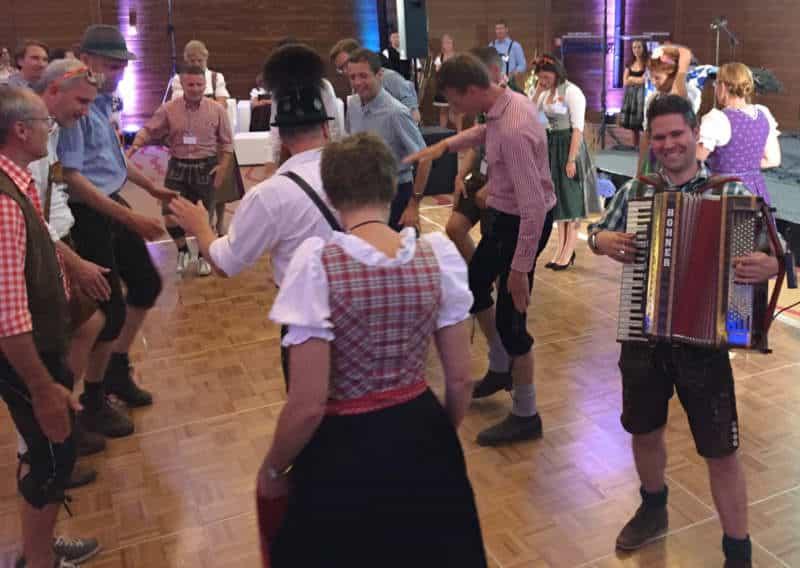 bavarian accordion player