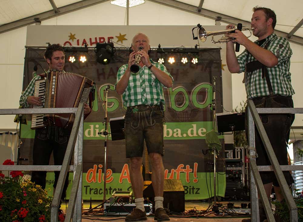 Bayerische Band spielt auf