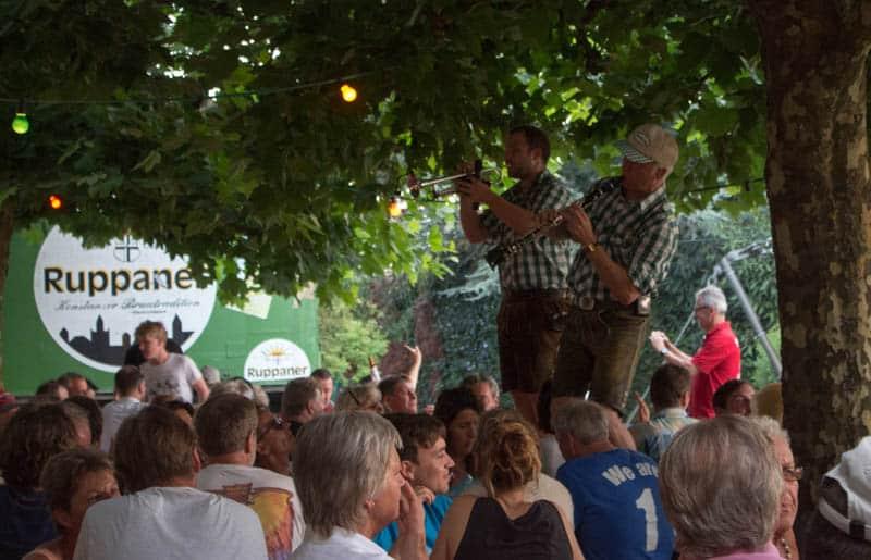 Band direkt am Bodensee