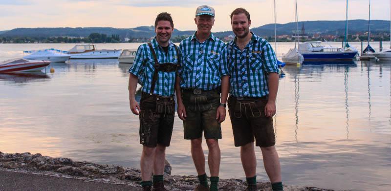 Die Lausbuba am Bodensee