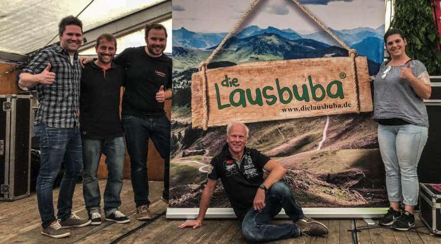Lausbuba Band aus Baden Württemberg